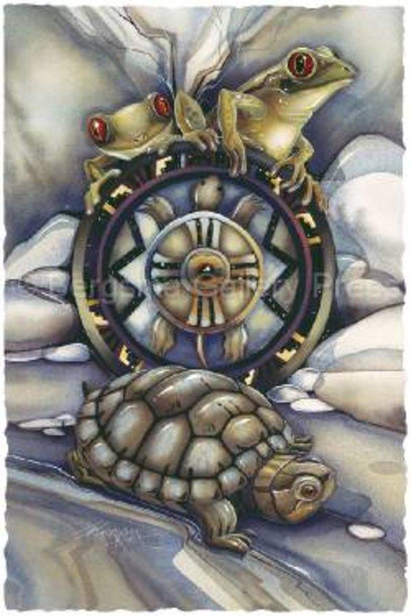 Тотемный гороскоп индейцев. Klan_lyagushki243