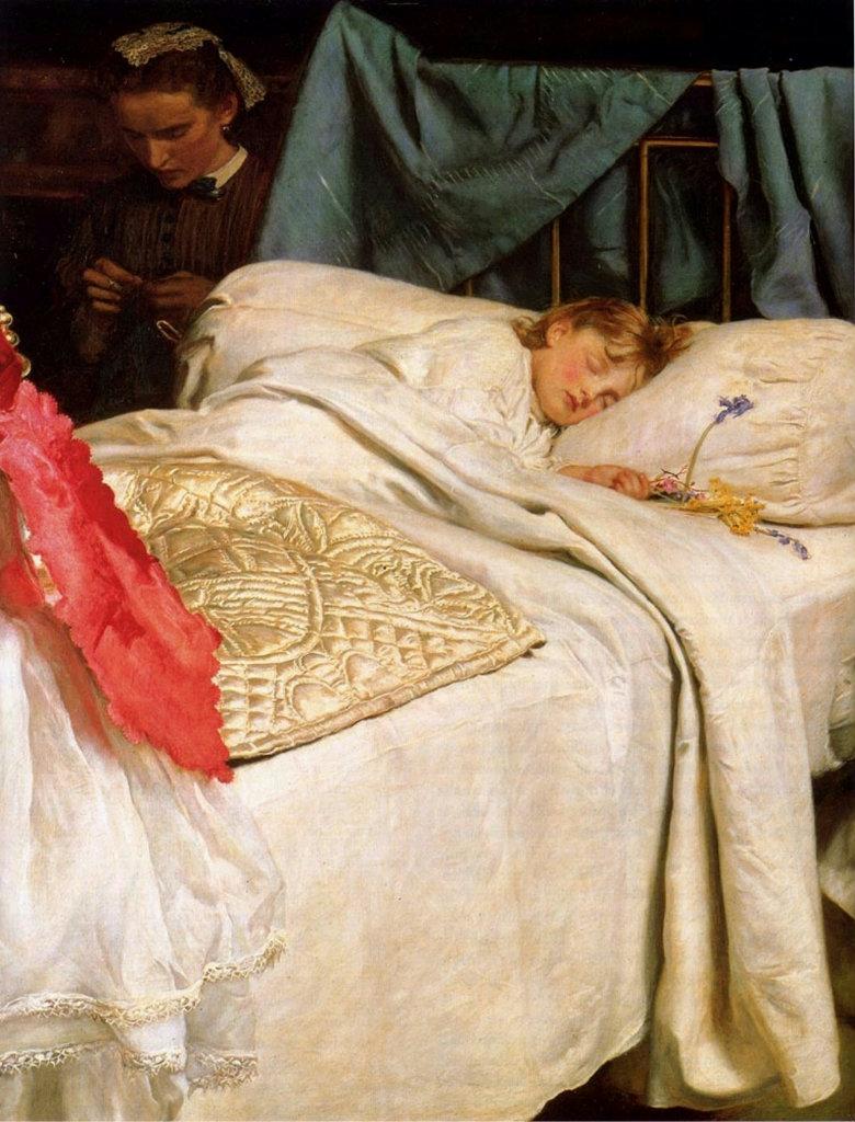Рассматриваем спящих девушек 7 фотография