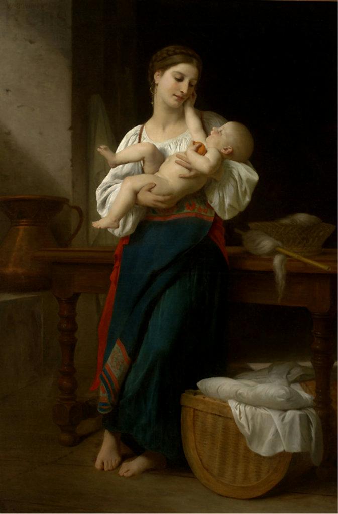 материнство в живописи, мама, мать
